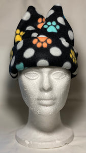Polka Dot Paws Fleece Hat