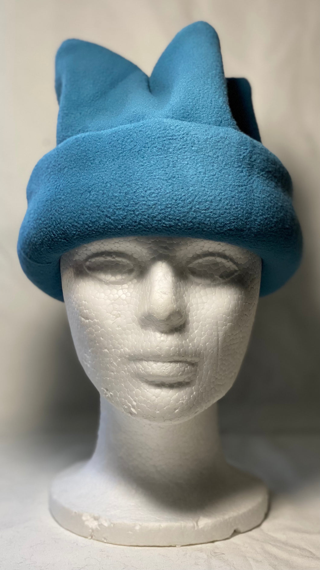 Blue-Green Fleece Hat
