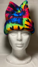 Load image into Gallery viewer, Tie Dye Explosion Fleece Hat