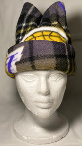 Lakers Plaid Fleece Hat