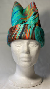 Abstract Painting Fleece Hat