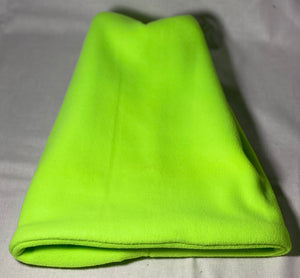 Lime Green Fleece Hat