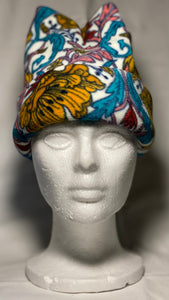 Vibrant Paisley Fleece Hat