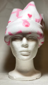 Breast Cancer Awareness Fleece Hat
