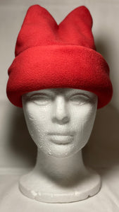 Red Wine Fleece Hat