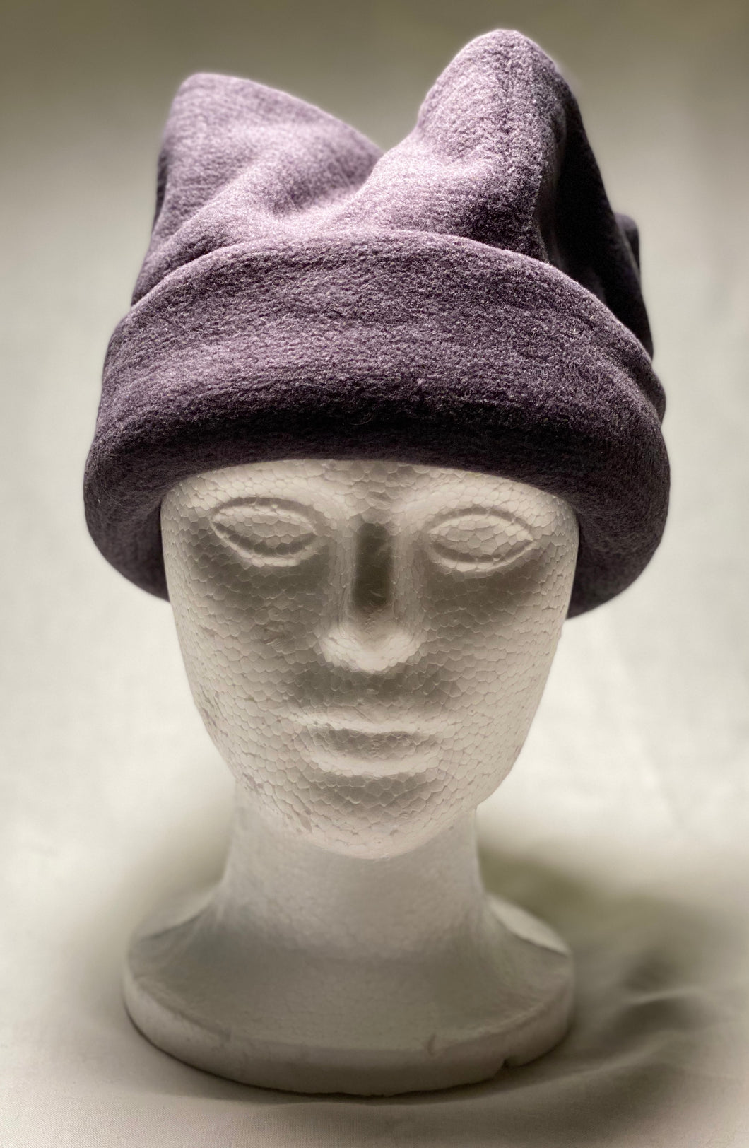 Heather Grey Fleece Hat