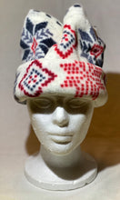 Load image into Gallery viewer, Winter Print Fleece Hat