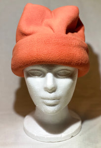 Burnt Orange Fleece Hat