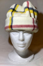 Load image into Gallery viewer, White Stripes Fleece Hat