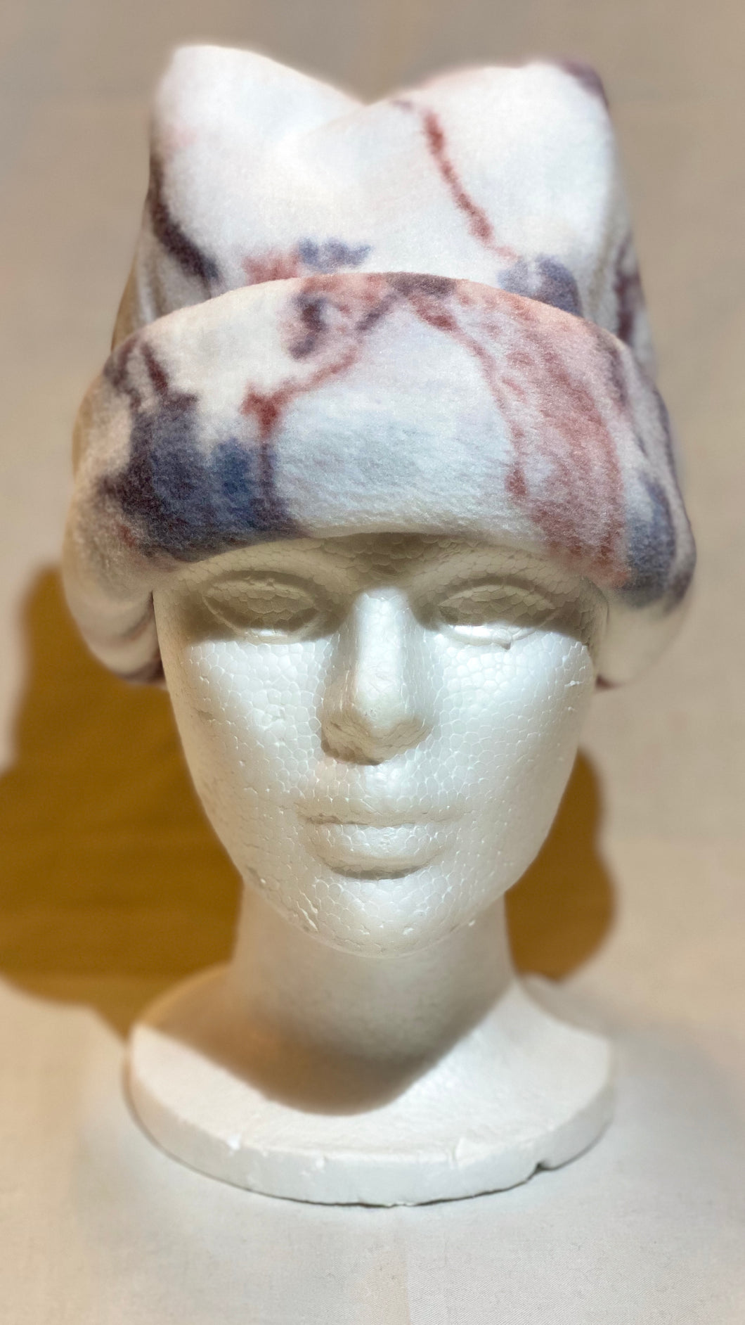 Luxury Marble Fleece Hat