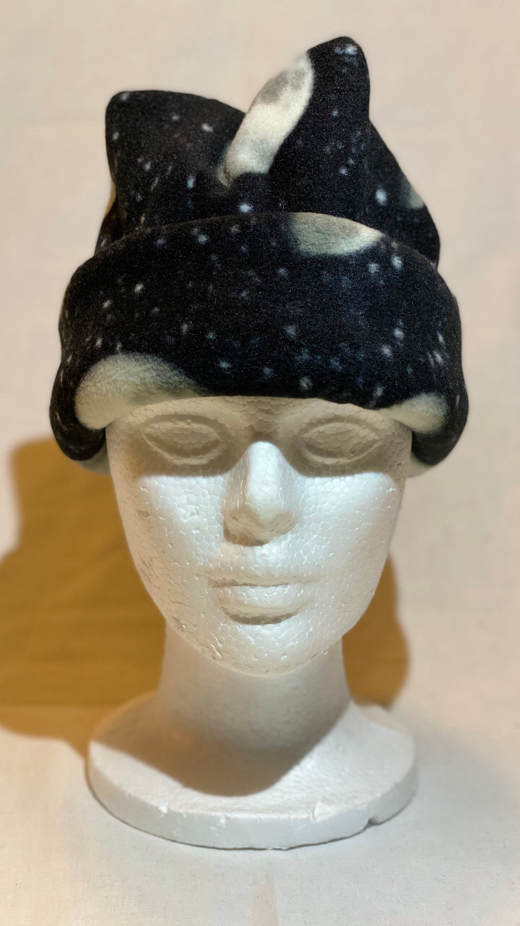 Moon Phases Fleece Hat