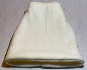 Cream Fleece Hat