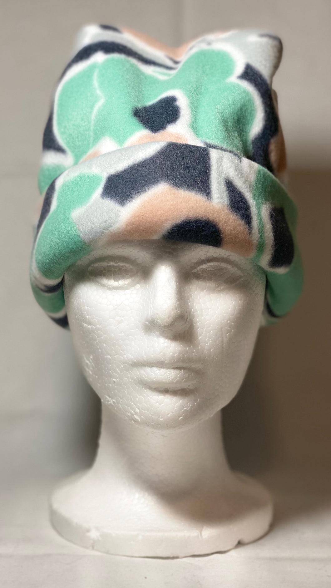 Wild Flower Fleece Hat