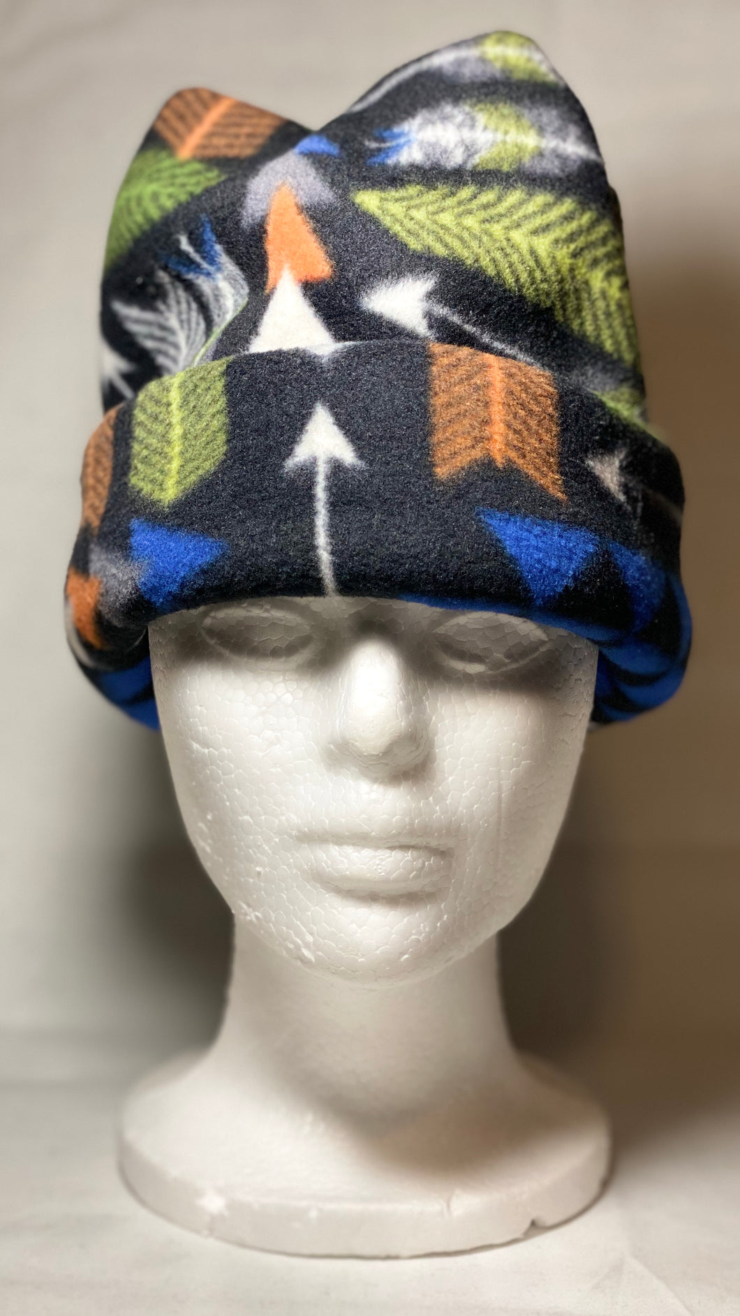Black Arrows Fleece Hat
