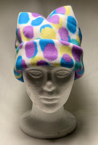Polka Dotted Fleece Hat