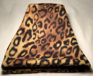 Leopard Fleece Hat