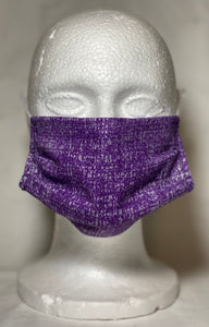 Purple Static Mask