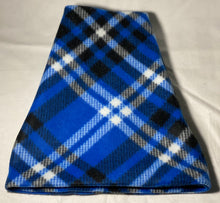 Load image into Gallery viewer, Blue Plaid Fleece Hat