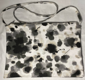 Canvas Paint Splotch Handbag