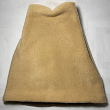 Load image into Gallery viewer, Tan/Brown Fold Fleece Hat