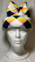 Load image into Gallery viewer, Vibrant Diamonds Fleece Hat
