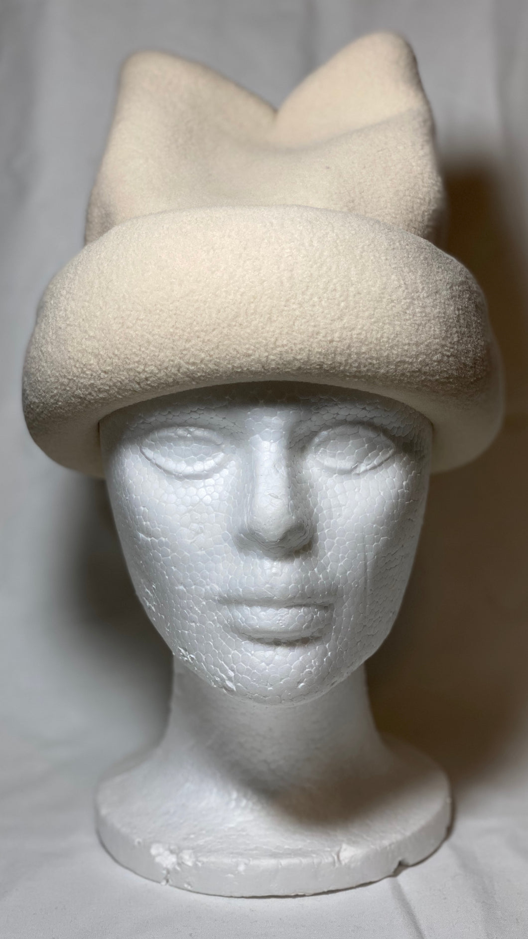 Light Tan Fleece Hat
