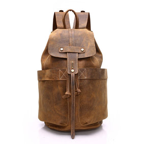 The Amazonian Leather Backpack