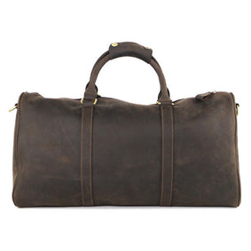 Classic  Leather Overnight Bag