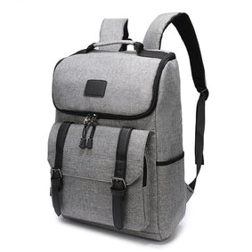 Canvas commuter backpack