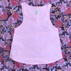 KEALIA Cotton Singlet in ROSE