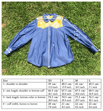 Load image into Gallery viewer, KOLOA Denim Shirt in mustard - Farm Gypsy