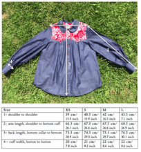 Load image into Gallery viewer, KOLOA Denim Shirt in bordeaux