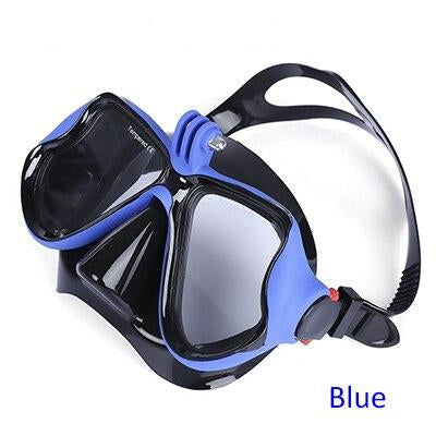 D12 Diving Mask With Action Cam Mount - Uber Survival