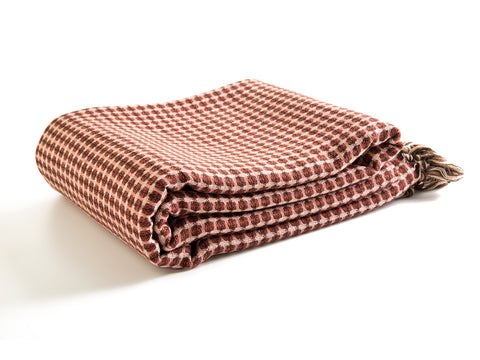 "Wool Blend Throw Blanket 100""x64"""