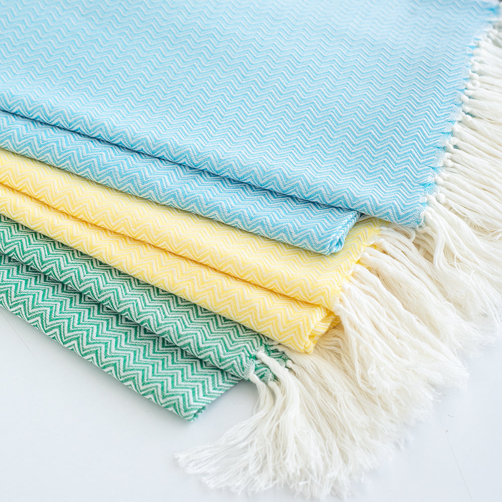 Set of 3 Cotton Peshtemals