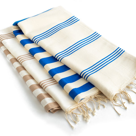 Set of 2 - Bamboo & Cotton Peshtemals