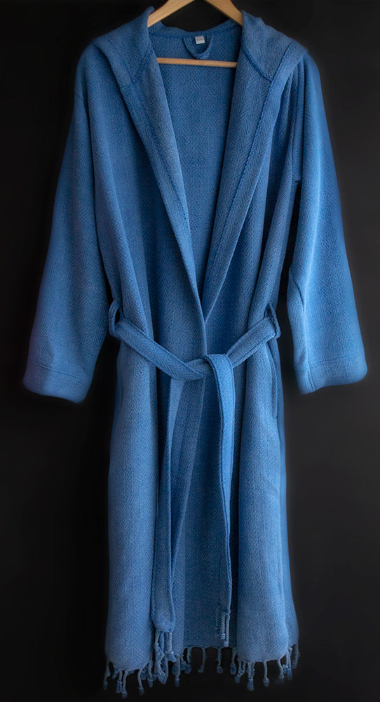 Pure Natural Cotton Bathrobe