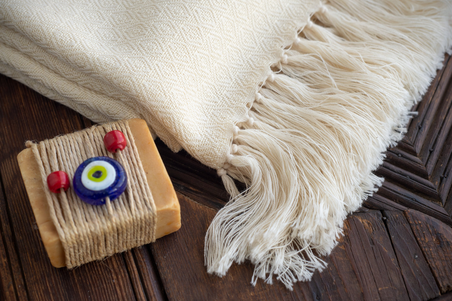 Diamond Weave Peshtemal Towel 100% Natural Cotton
