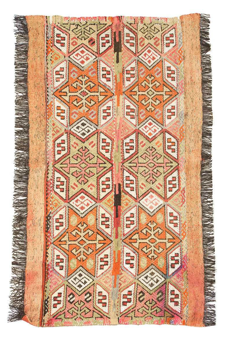 "Turkish Kilim Rug 55"" X 32"""