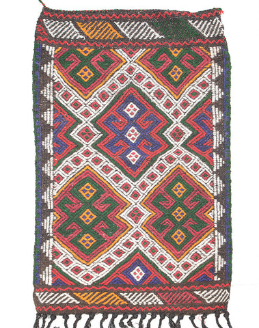 "Cicim Turkish Rug 47"" X 27"""