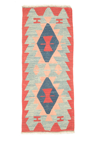 "Kilim Turkish Rug 45"" X 27"""
