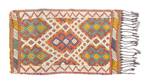"Cicim Turkish Rug 45"" X 27"""