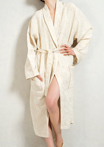 Linen&Cotton Bathrobe
