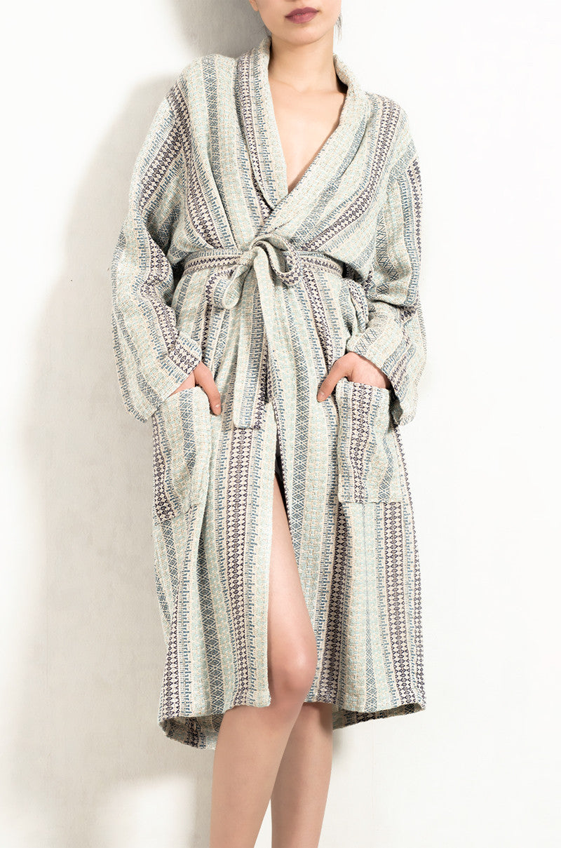 Anatolian Pure Natural Cotton Bathrobe