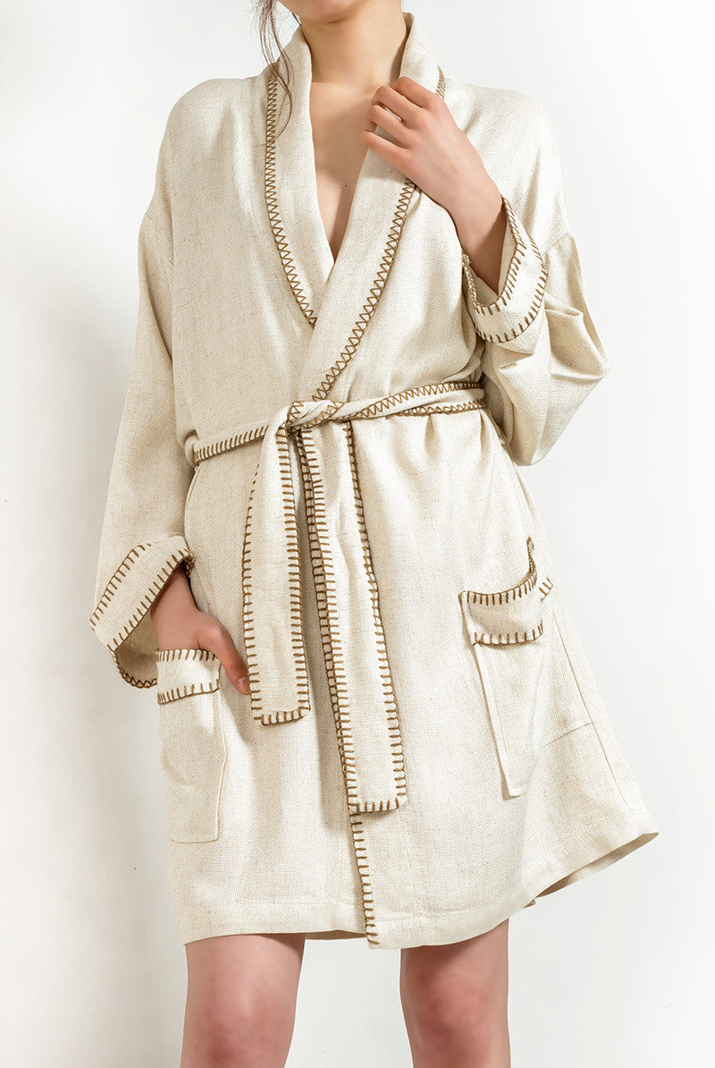 Bamboo&Cotton Robe