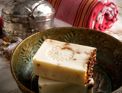 Traditional Rose Soap with Organic Olive Oil