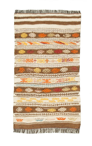 "Turkish Kilim Rug 47"" X 28"""