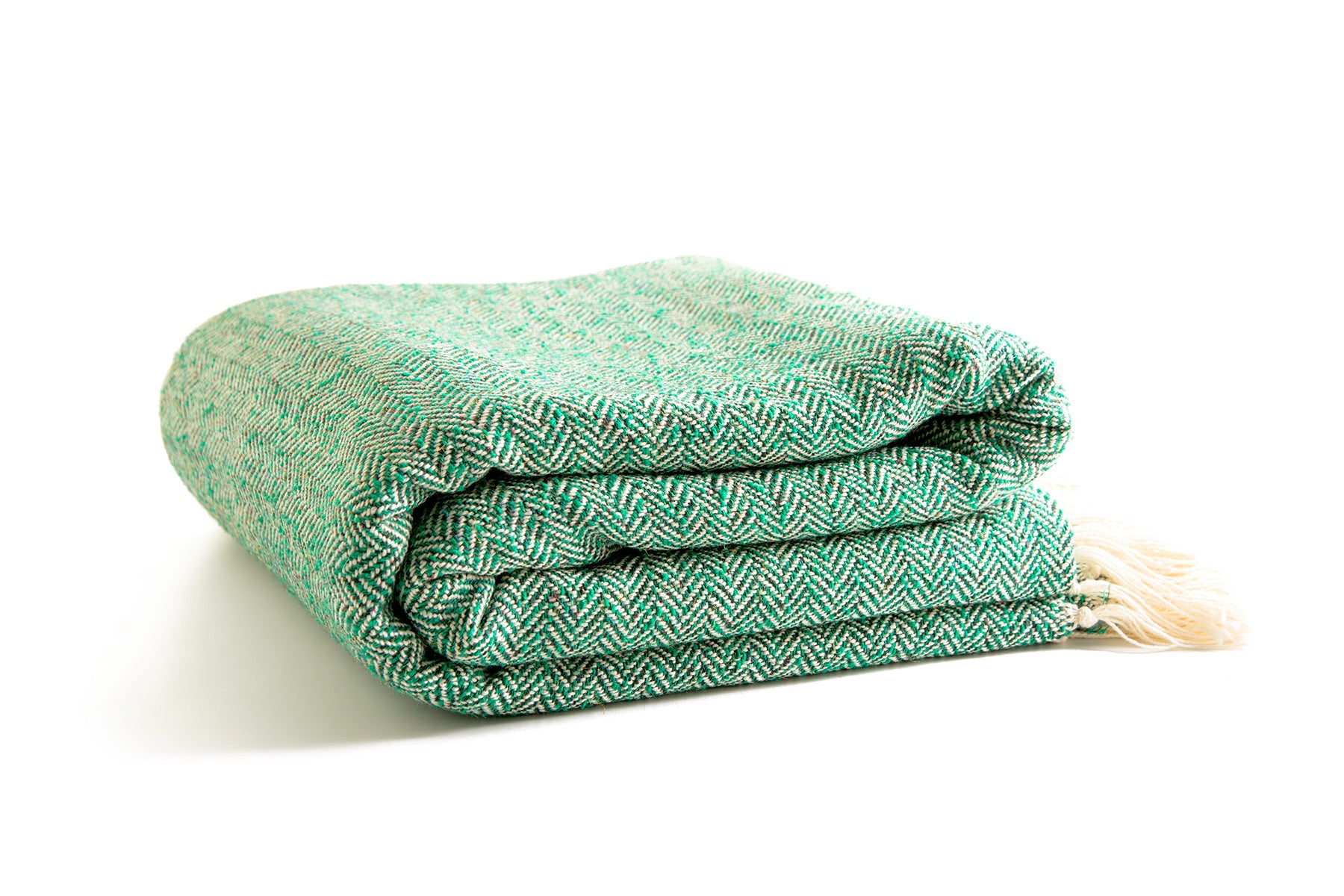 "Silk & Wool Throw Blanket 98""x75"""