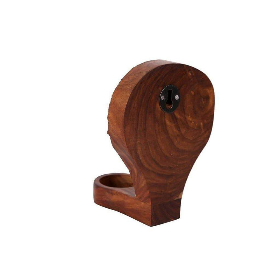 Handcrafted Sheesham Wood Tealight Candle Holder-Tealight Candle Holder-Hashcart
