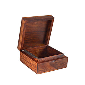 Traditional Handcrafted Wooden Jewelry Box
